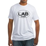 LAB DAD II Fitted T-Shirt