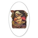 """Gift of Love"" Sticker (Oval 10 pk)"