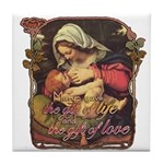 """Gift of Love"" Tile Coaster"