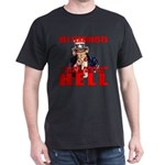 """No Virgins In Hell"" Black T-Shirt"