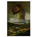 Goya Colossus Fantasy Quote Large Poster