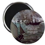 "Manet Painting Color Quote 2.25"" Magnet (100 pack)"