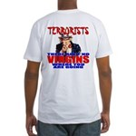 """Conservative """"No Virgins"""" Fitted T-Shirt"""