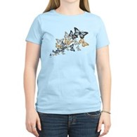 Butterfly Swarm Women's Light T-Shirt