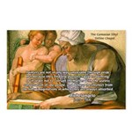 Michelangelo Art Philosophy Postcards (Package of