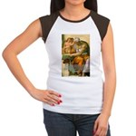 Michelangelo Art Philosophy Women's Cap Sleeve T-S