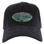 Claude Monet Torture Art Black Cap