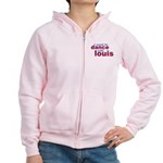 I want to Dance with Louis Women's Zip Hoodie