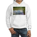 Monet Painting: Beauty Quote Hooded Sweatshirt