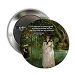 Berthe Morisot Art Quote Button