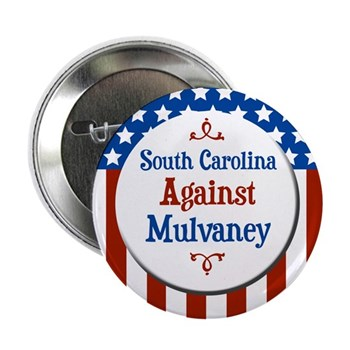 South Carolina Against Mulvaney campaign button