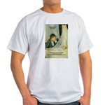 Female Artist Morisot Quote Ash Grey T-Shirt