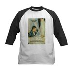 Female Artist Morisot Quote Kids Baseball Jersey