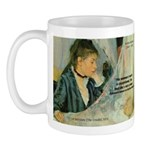 Female Artist Morisot Quote Mug