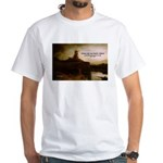 Rembrandt Painting & Quote White T-Shirt