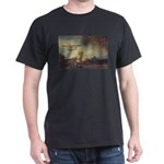 Rembrandt: on God & Painting Black T-Shirt