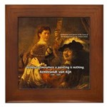 Art & Atmosphere Rembrandt Framed Tile