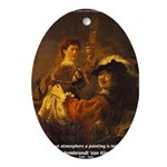 Art & Atmosphere Rembrandt Oval Ornament