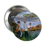 Renoir Painting: Art & Beauty Button