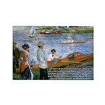 Renoir Painting: Art & Beauty Rectangle Magnet (10