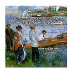 Renoir Painting: Art & Beauty Tile Coaster