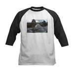 Renoir The Louvre & Nature Kids Baseball Jersey