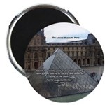 "Renoir The Louvre & Nature 2.25"" Magnet (100 pack)"