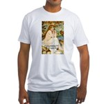 Renoir Impressionist Nude Fitted T-Shirt