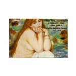 Renoir Impressionist Nude Rectangle Magnet (100 pa