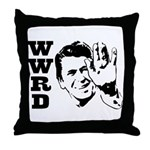 What Would Reagan Do Throw Pillow