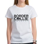 Border Collie Agility Women's T-Shirt