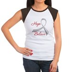 Hope Believe Diabetes Women's Cap Sleeve T-Shirt