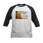 Alfred Sisley Nature Quote Kids Baseball Jersey