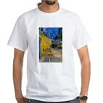 Vincent Van Gogh Color Art White T-Shirt