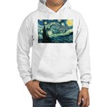 Starry Night Vincent Van Gogh Hooded Sweatshirt