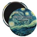 "Starry Night Vincent Van Gogh 2.25"" Magnet (10 pac"
