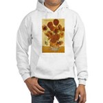 Van Gogh Painting & Quote Hooded Sweatshirt