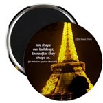 "Art Architecture Eiffel Tower 2.25"" Magnet (100 pa"