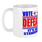 Vote Defeatocrat (Democrat) Mug