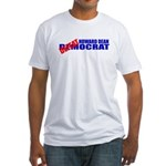 Howard Dean Defeatocrat Fitted T-Shirt