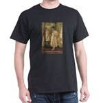 Aesop Quote Psyche Painting Black T-Shirt
