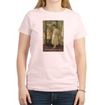 Aesop Quote Psyche Painting Women's Pink T-Shirt