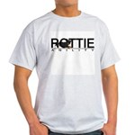 Rottie Agility Ash Grey T-Shirt