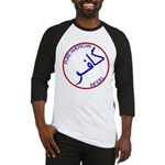 Red White Blue Pure Infidel Baseball Jersey