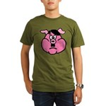Adolf Hitler - Pigs in History - History Clothing & Gifts - Men's Dark T-Shirt