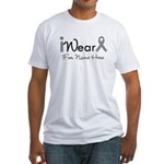 Personalize Diabetes Fitted T-Shirt