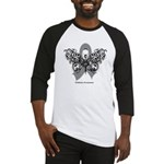 Diabetes Tribal Butterfly Baseball Jersey