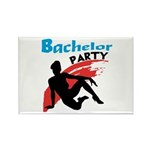 Sexy Bachelor Party Rectangle Magnet (100 pack)