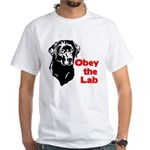 Obey the Lab White T-Shirt