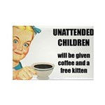 Unattended Children Fridge Magnet